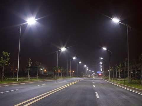 Внешнее уличное освещение предлагается на 5200K