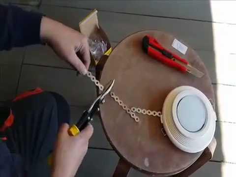 Нарезание крепёжной ленты