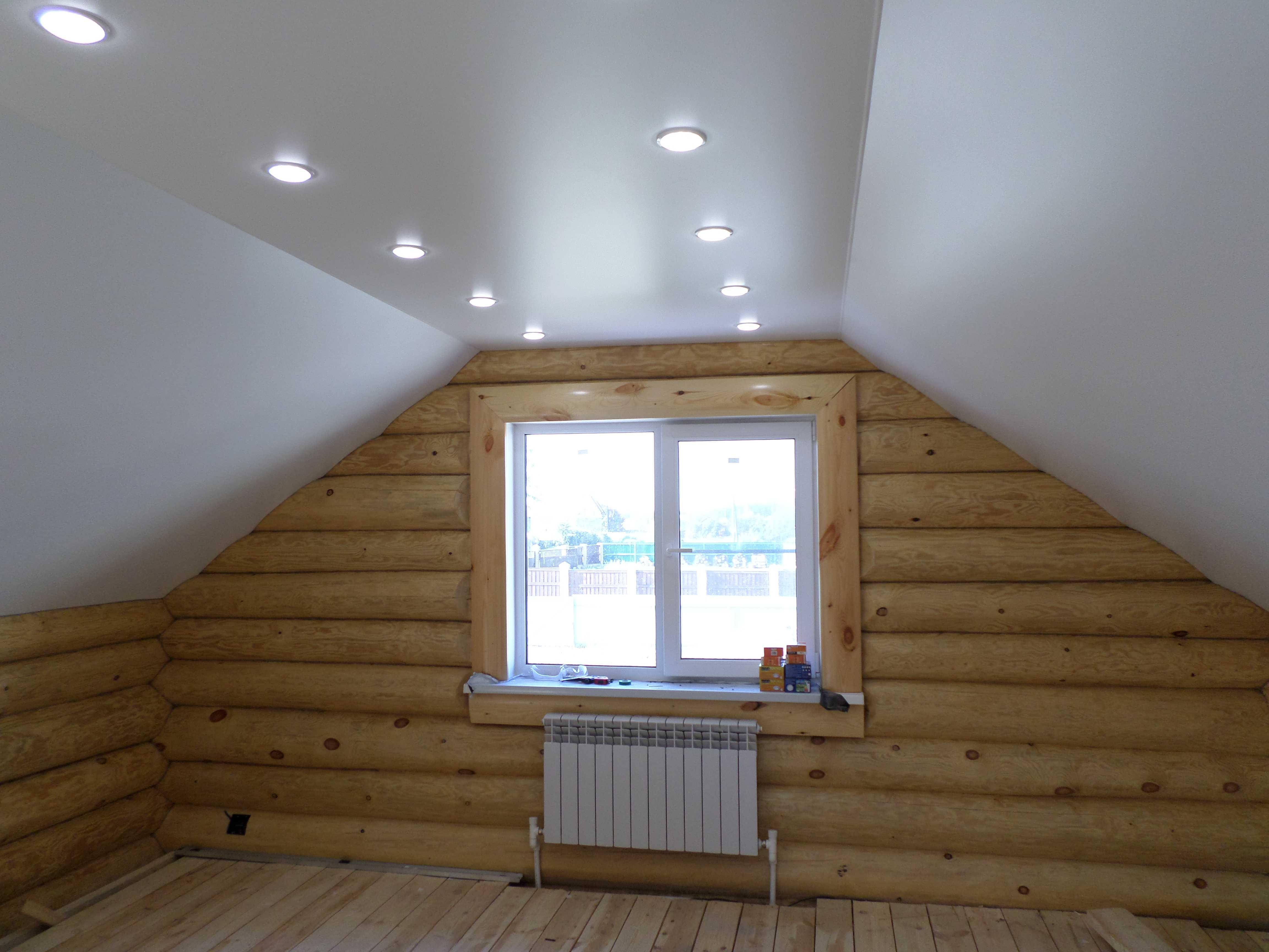 Расположение светильников в помещении с окнами