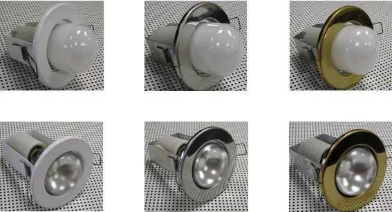 Точечные светильники с лампами накаливания