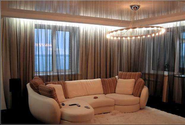 Светодиодная подсветка для штор, а так же подсветка окна