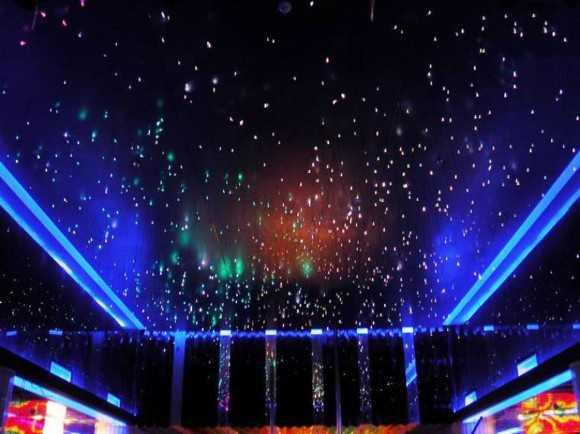 Вариант подсветки под «звездное небо»