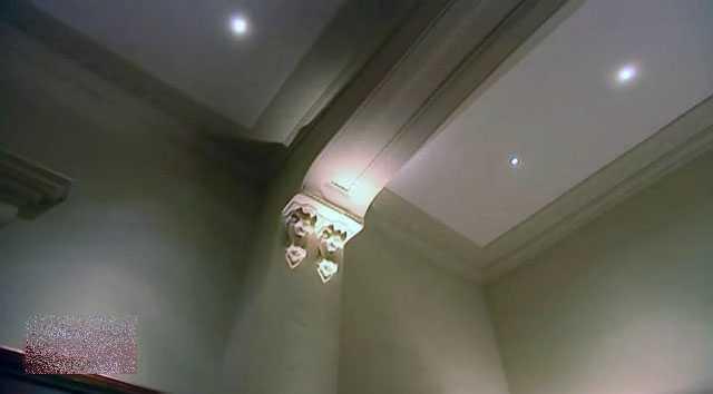 «Драматическое» потолочное освещение