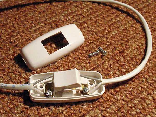 Проводной выключатель