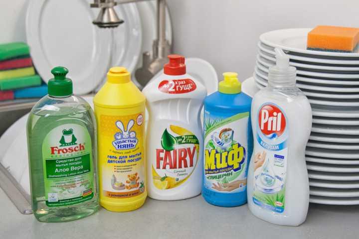 Гели для посуды, подходящие для чистки хрусталя