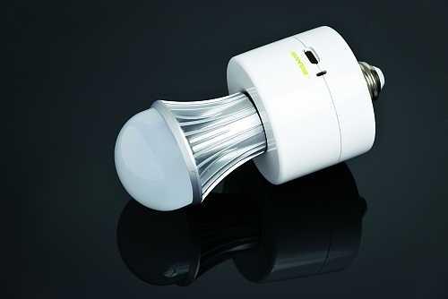 Светодиодная лампа аварийного освещения с аккумулятором
