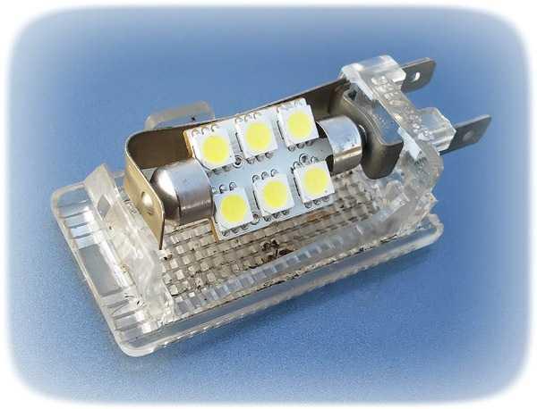 Фото одной из моделей светодиодного плафона