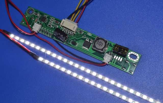 Подключение светодиодной ленты к плате