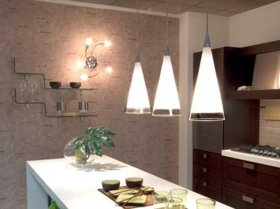 Правильное освещение кухни