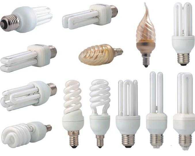 Модели энергосберегающих лампочек