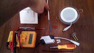 Подсоединение резистора