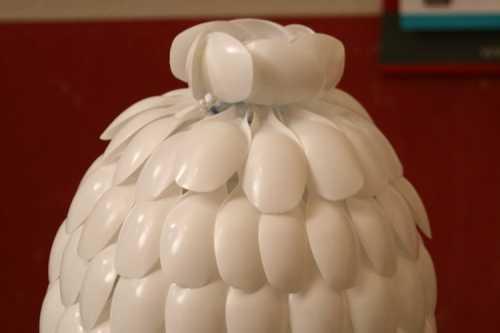 Изготовление плафона люстры