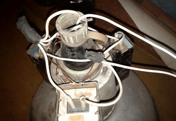 Подключение лампы ДРЛ с самодельным балластом