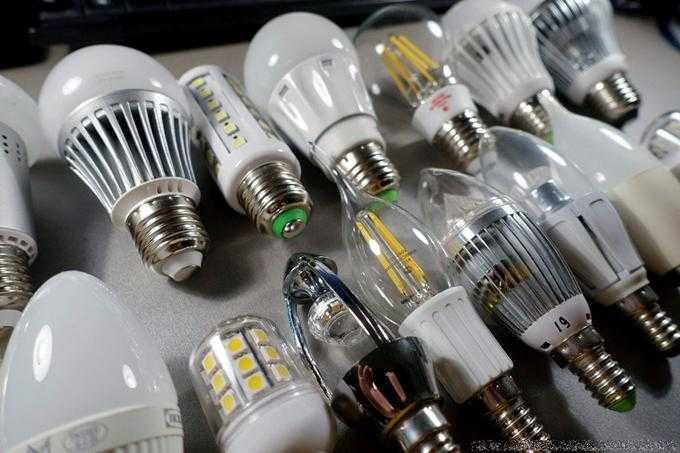 Модели светодиодных ламп