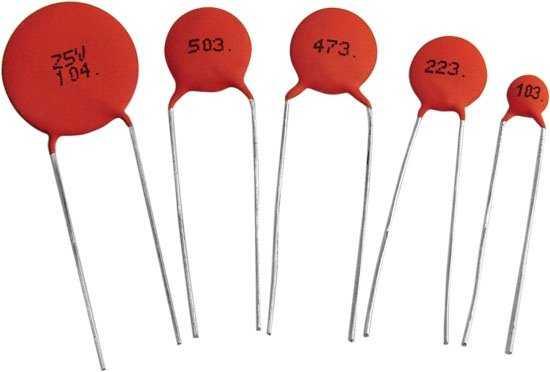 Керамические конденсаторы с маркировкой