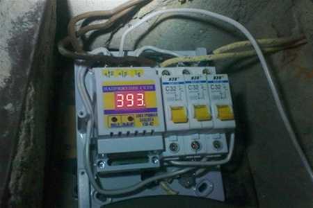 Повышенное напряжение в электрической сети