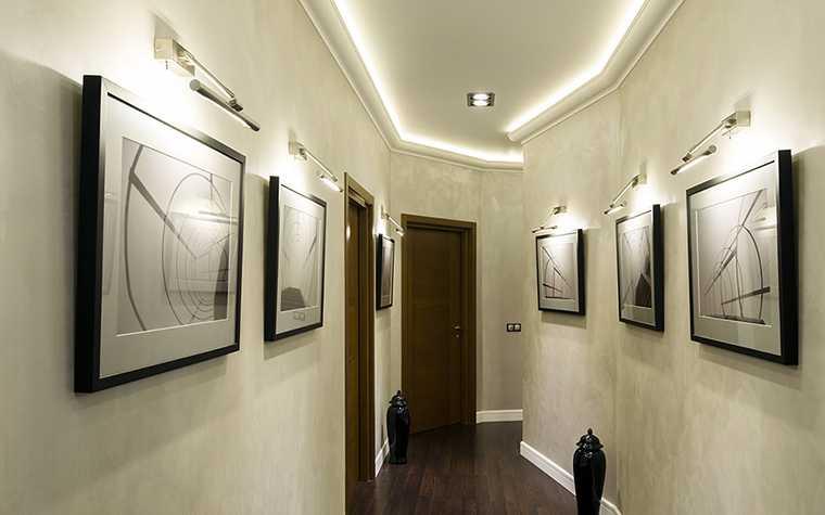 Совместная работа основного и локального декоративного освещения