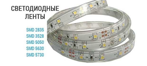 Маркировки светодиодных лент