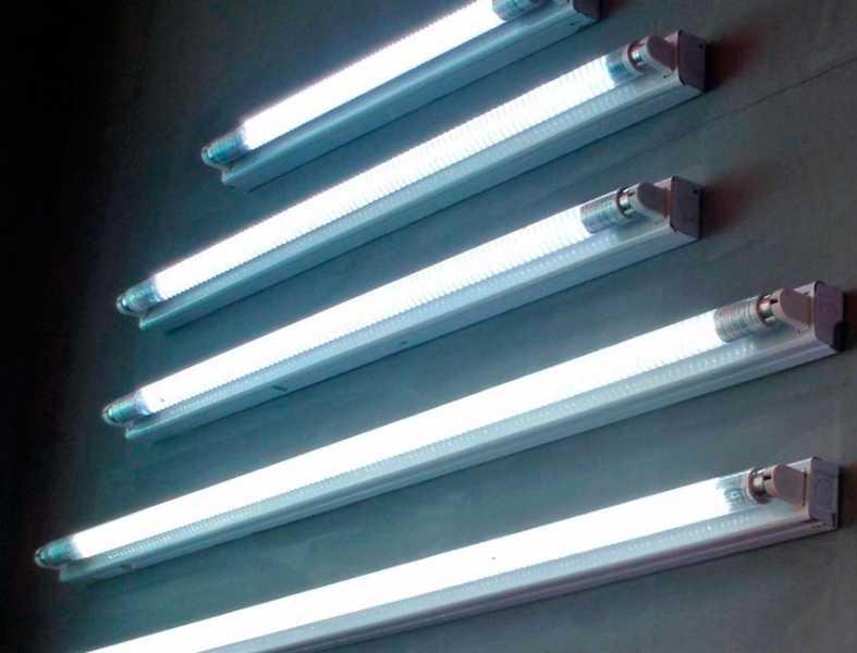 Прямые трубчатые люминесцентные лампы