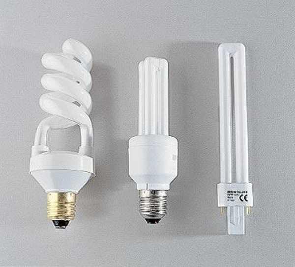 Люминесцентные лампы со стандартным цоколем и штырьковыми контактами