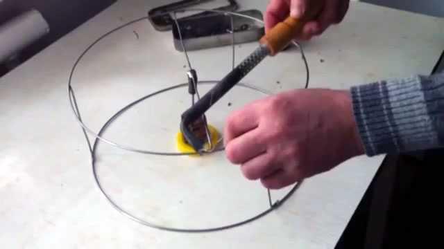Изготовление абажура