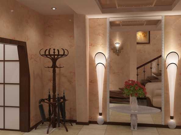 Декоративное освещение, встроенное в элементы интерьера