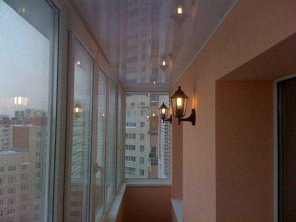 Настенный светильник под уличный фонарь