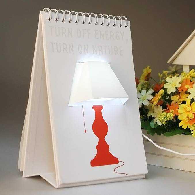 Простая в изготовлении светодиодная настольная лампа