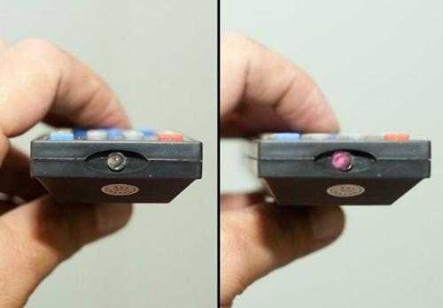 Проверка ИК-пульта с помощью камеры смартфона