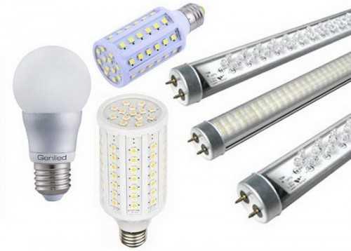 Варианты диодных световых приборов