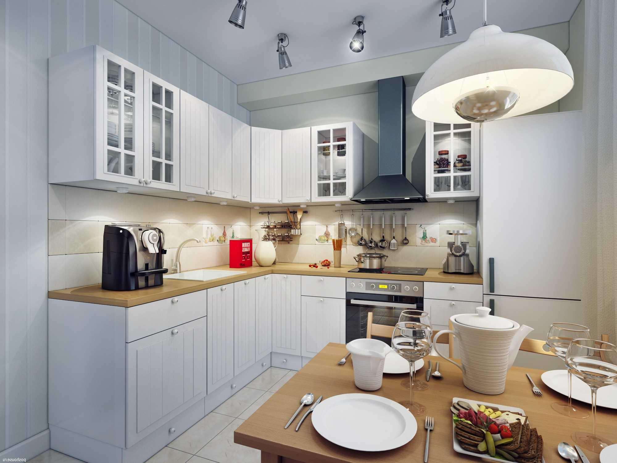 Вариант кухонного освещения