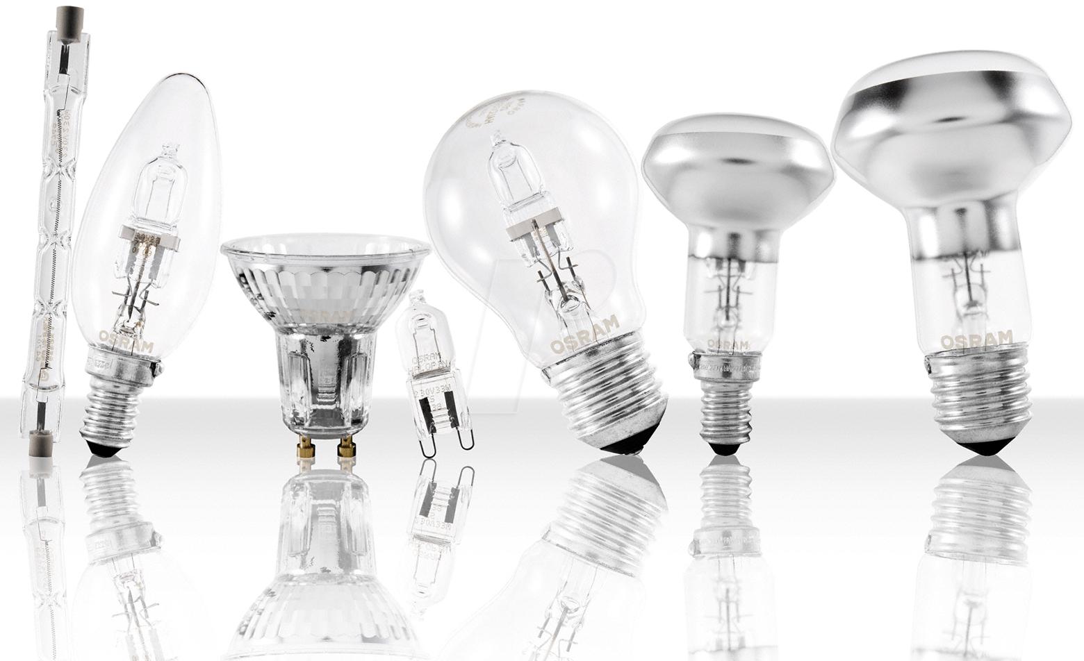 Виды ламп, используемые при световом оформлении