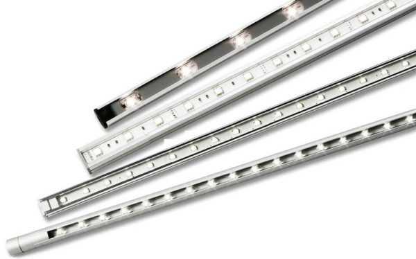 Светодиодные светильники для подсветки рабочей зоны кухни