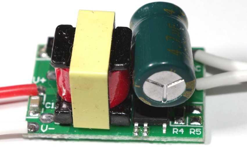 Светодиодный драйвер без корпуса