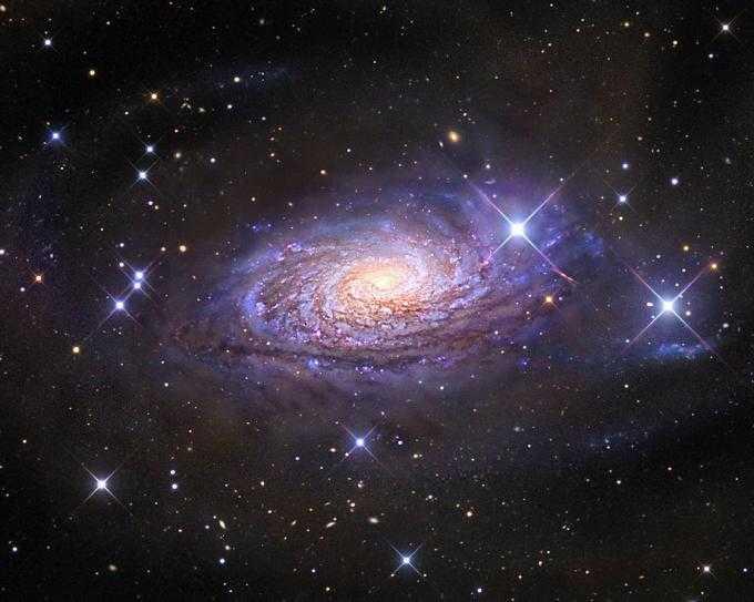 Звездное небо с кристаллами Сваровски