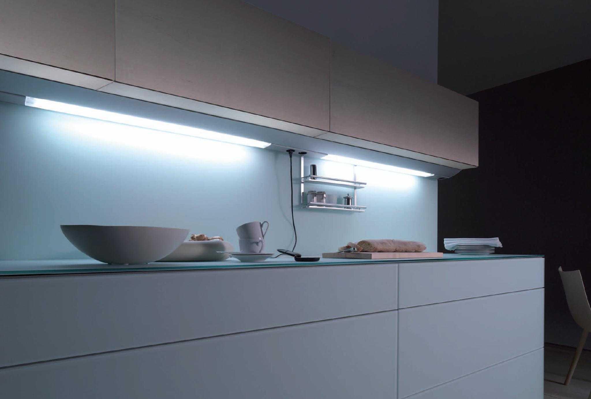 Использование люминесцентных ламп на кухне