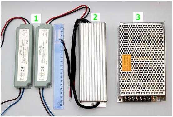 Разновидности блоков питания для светодиодной ленты
