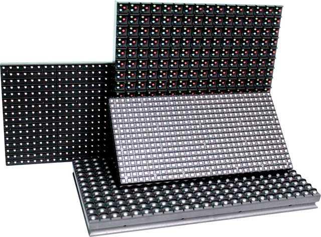 Модули Р10 разных цветов