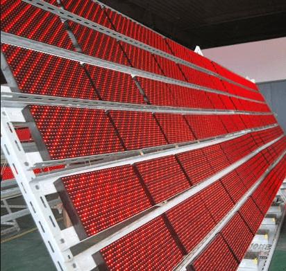 Каркас LED-экрана с модулями Р10