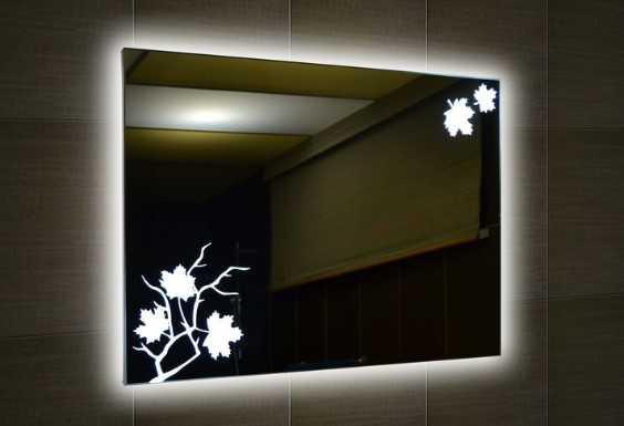 Светодиодная подсветка зеркала в ванной комнате