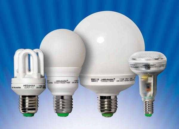 Компактные, энергосберегающие, люминесцентные лампы