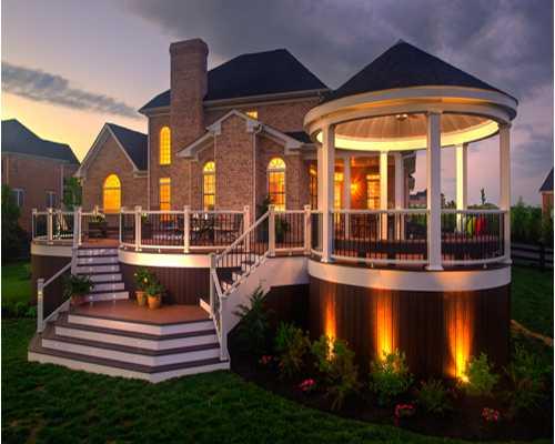 Пример удачного выделения оригинальных особенностей конструкции с помощью подсветки