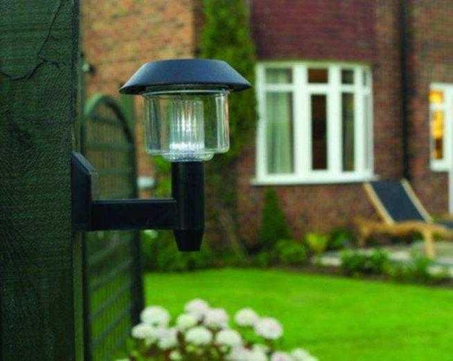 Светильники на солнечных батареях, не требуют прокладки проводов