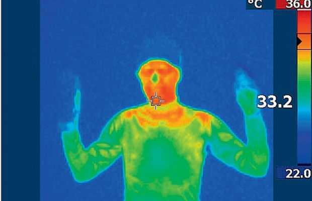 Реагирование на разницу температур