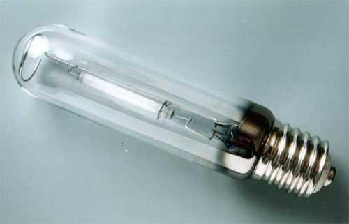 Внешний вид лампы ДНаТ