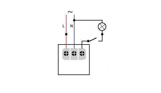 Размыкание цепи между датчиком и лампочкой