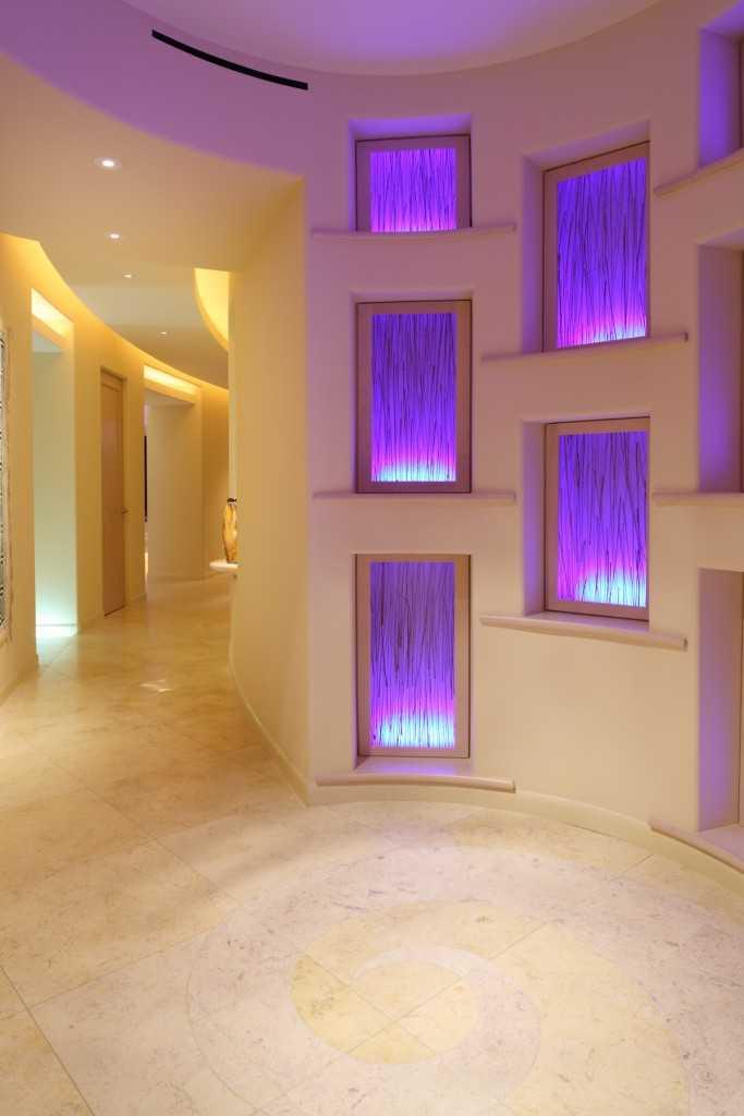 Пример фальшь окна с подсветкой