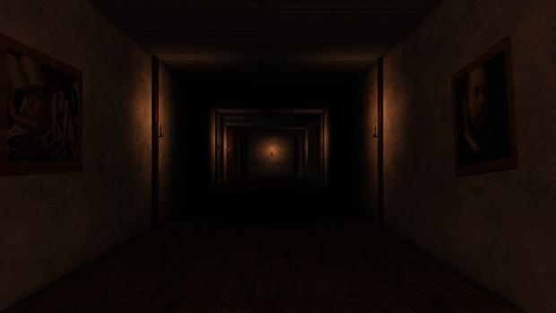 Длинный темный коридор – идеальное место применения проходного выключателя