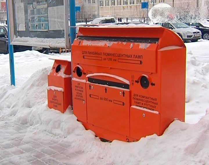 Контейнер для приемки отработанных экологически опасных изделий