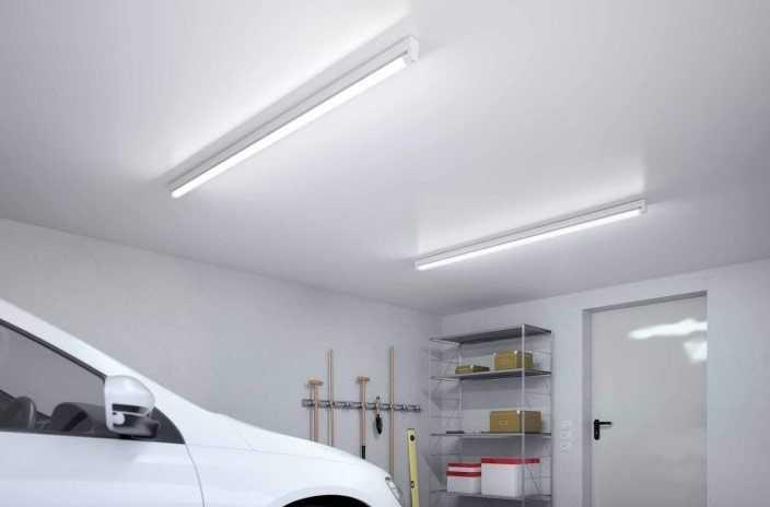 Основное освещение гаража